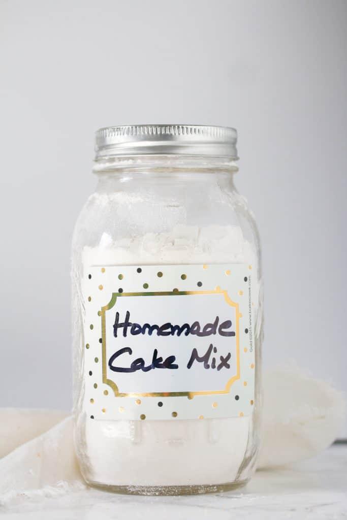 Homemade Yellow Cake Mix Boston Girl Bakes
