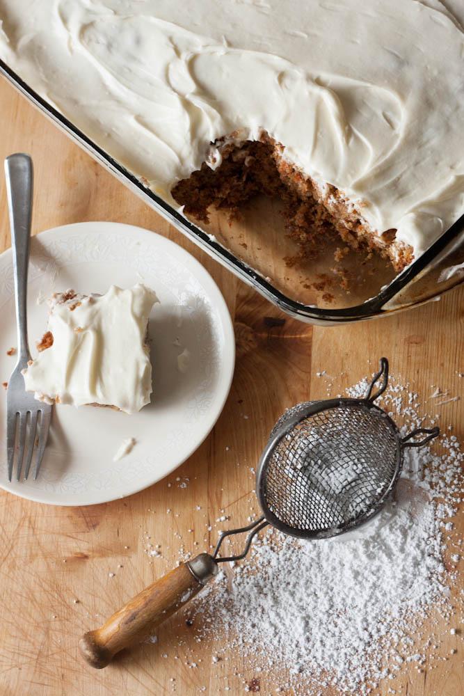 carrot sheet cake