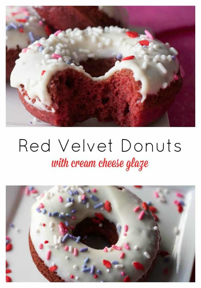 Red Velvet Donuts - Boston Girl Bakes