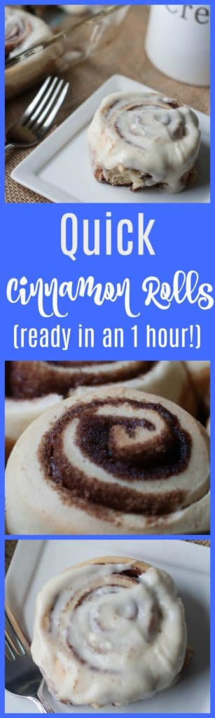 Quick Cinnamon Roll Recipe That's Ready In An One Hour!