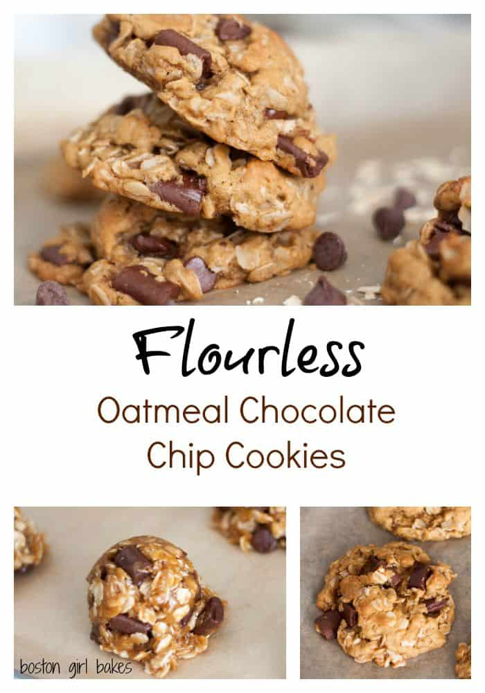 PicMonkey Collage flourless oatmeal cookies