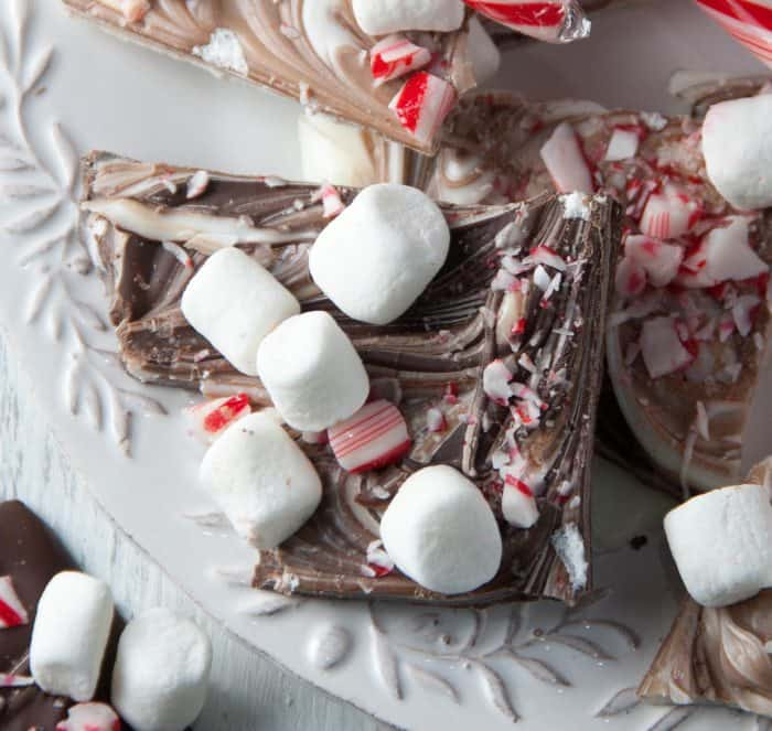 Peppermint Marshmallow Bark