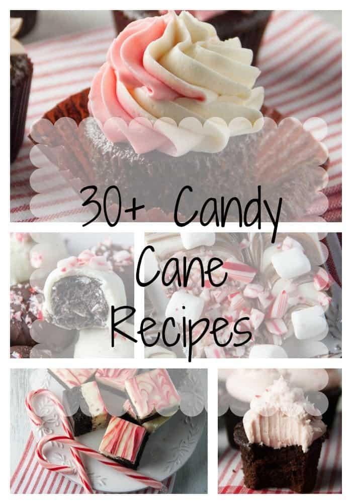 candy cane desserts