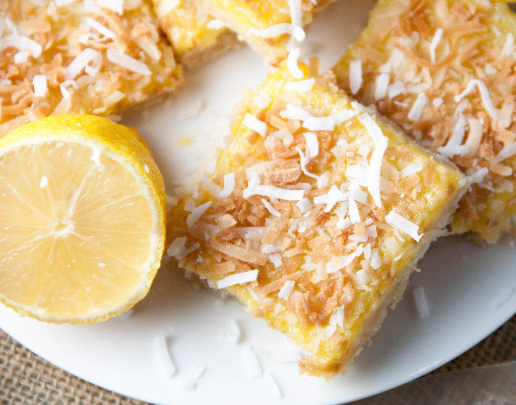 Coconut Lemon Bars