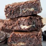 Oreo Brownie Gooey Bars