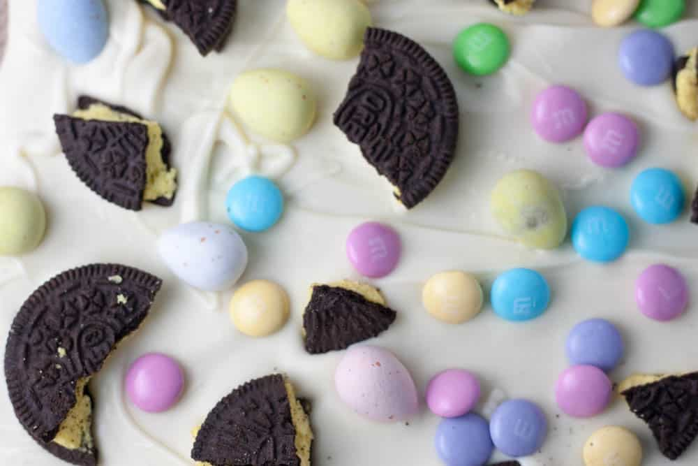 Easter Chocolate Bark unbroken