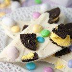 Easter Oreo Candy Bark