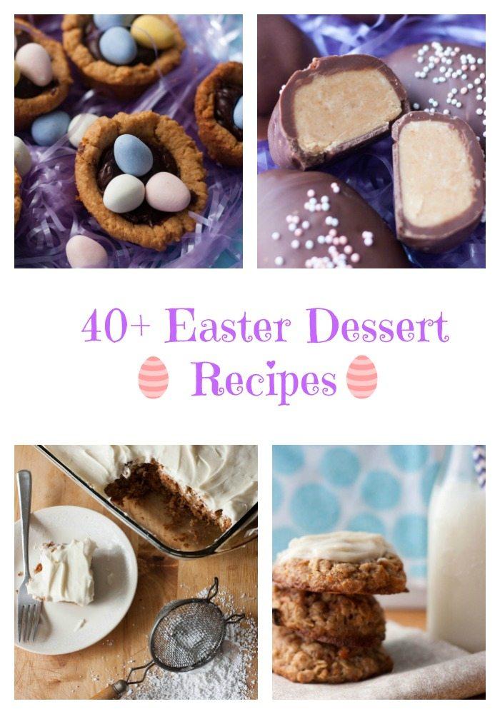 40 fun Easter desserts