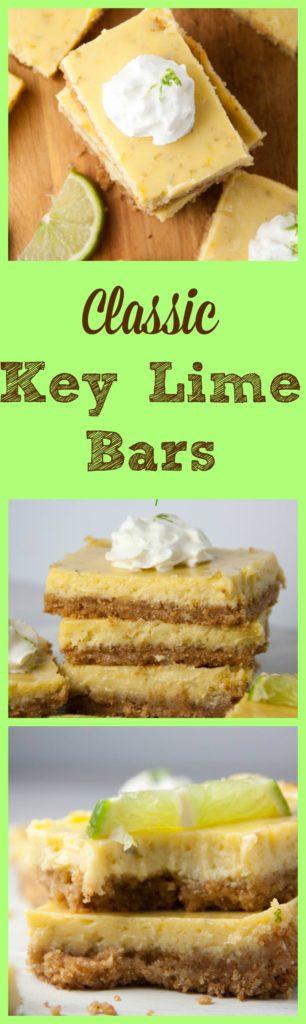 Classic Key Lime Bars