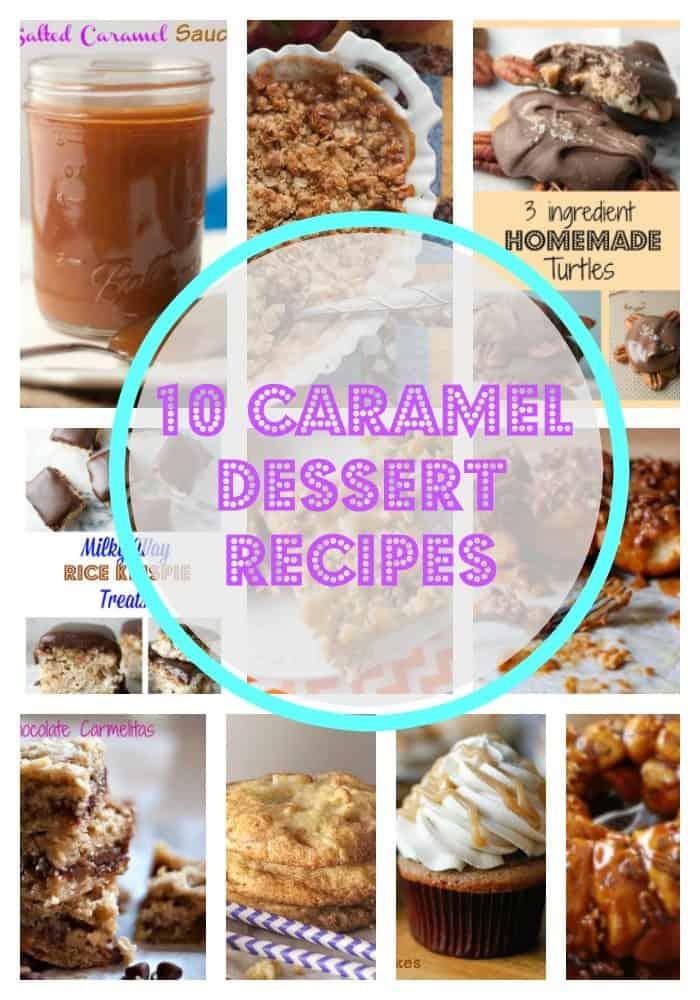 10 Caramel Dessert Recipes