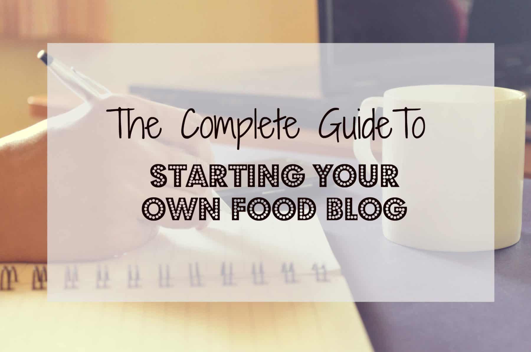 food blog guide 2