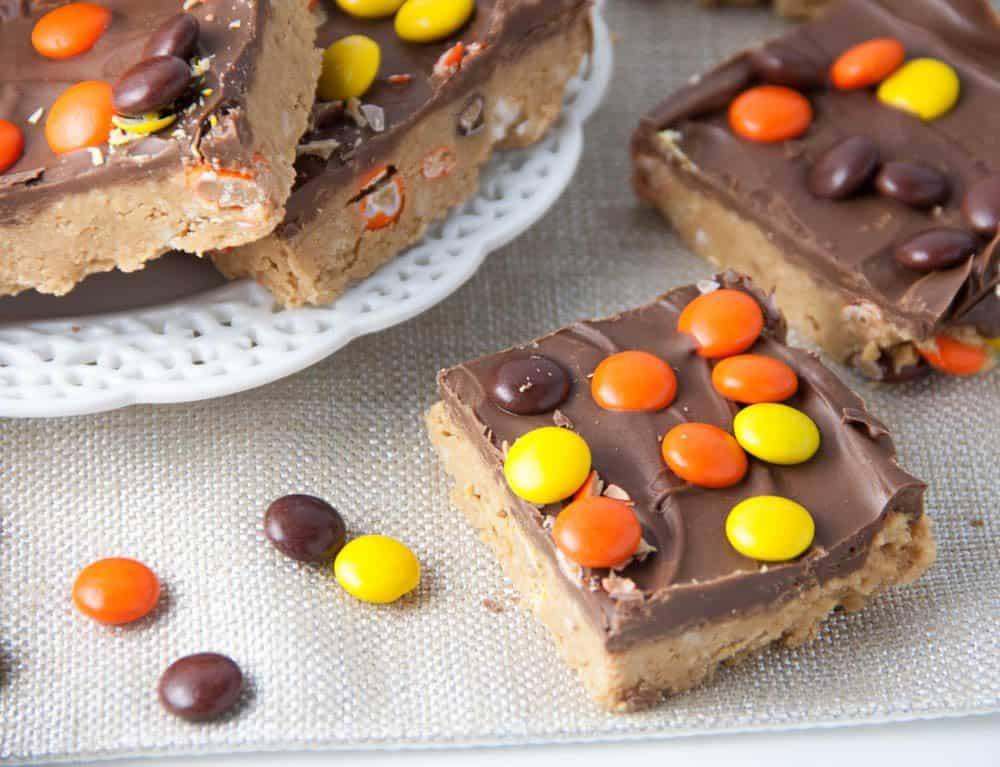 no bake Reese's Peanut Butter Bars