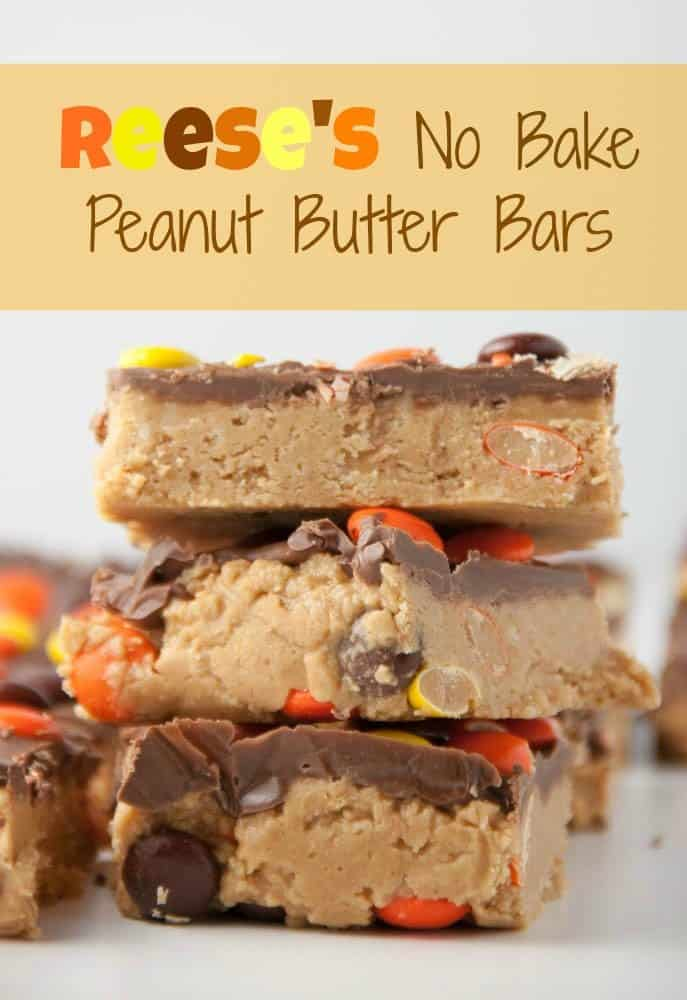 Reese's No Bake Peanut Butter Bars