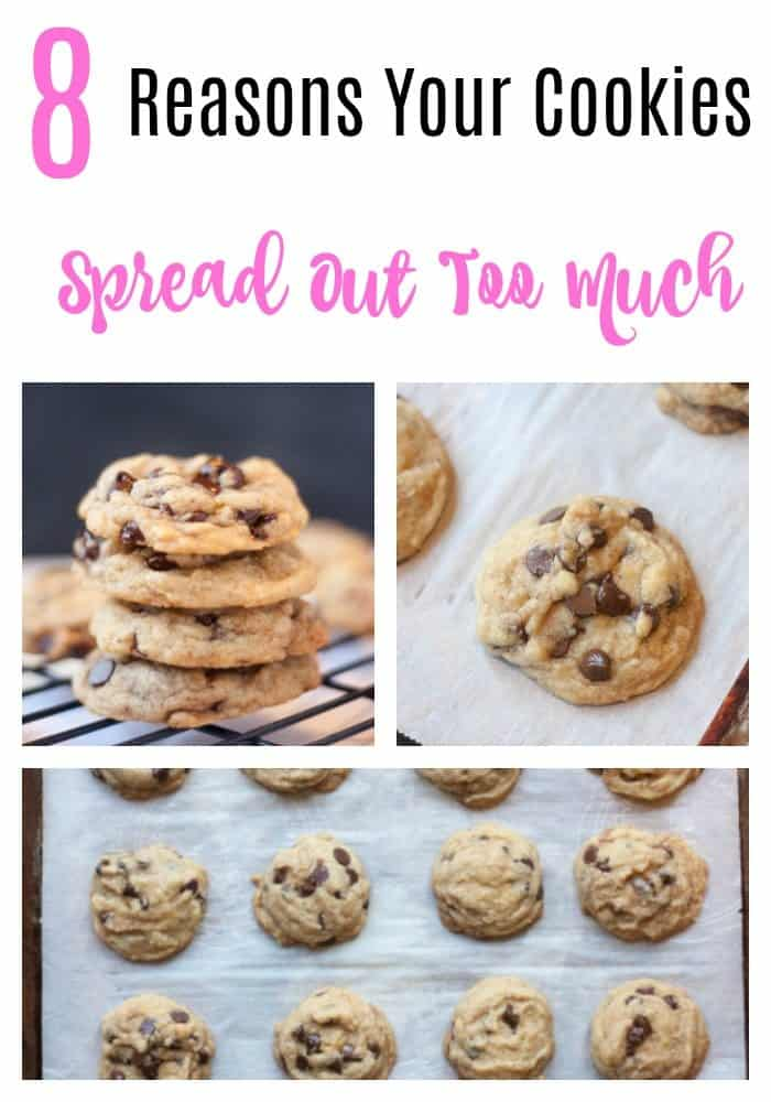 8 reasons your cookies spread out too much and why they turned out flat