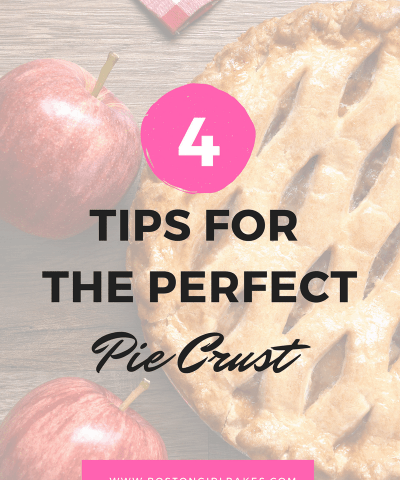 4 tips for the perfect pie crust