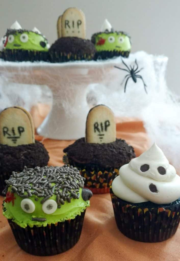 3 Easy Diy Storage Ideas For Small Kitchen: How To Make 3 Easy Halloween Cupcakes