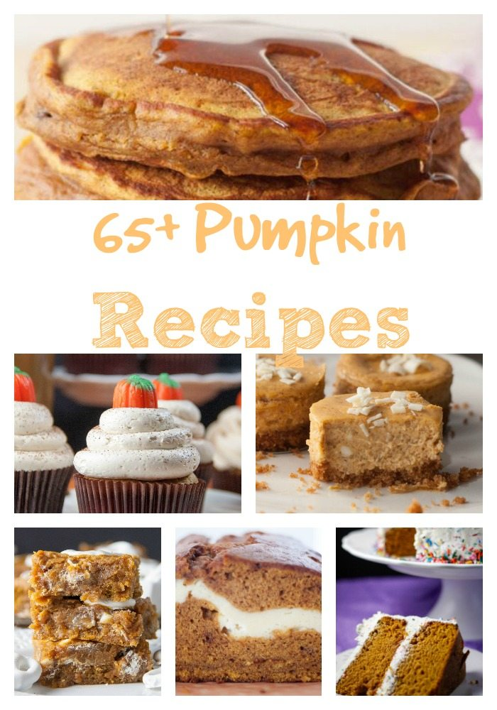 Photo collage of Pumpkin Recipes