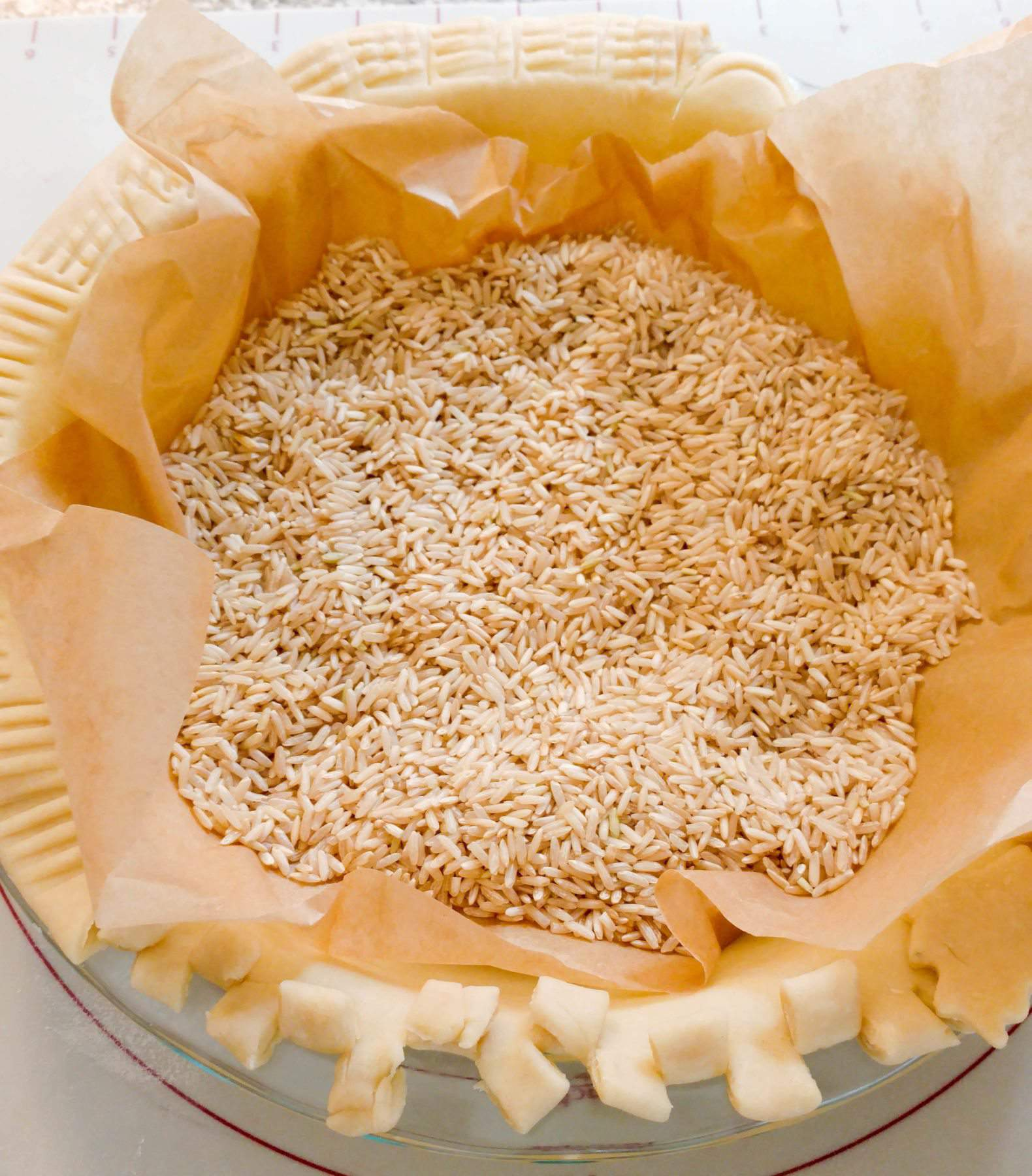 How To Blind Bake A Crust