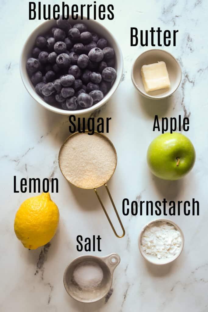 blueberry pie filling ingredients