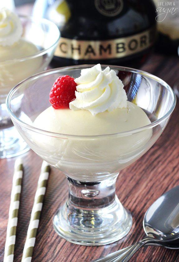 champagne chambord cheesecake