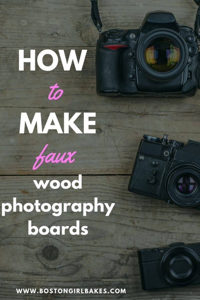how to make wood photography boards