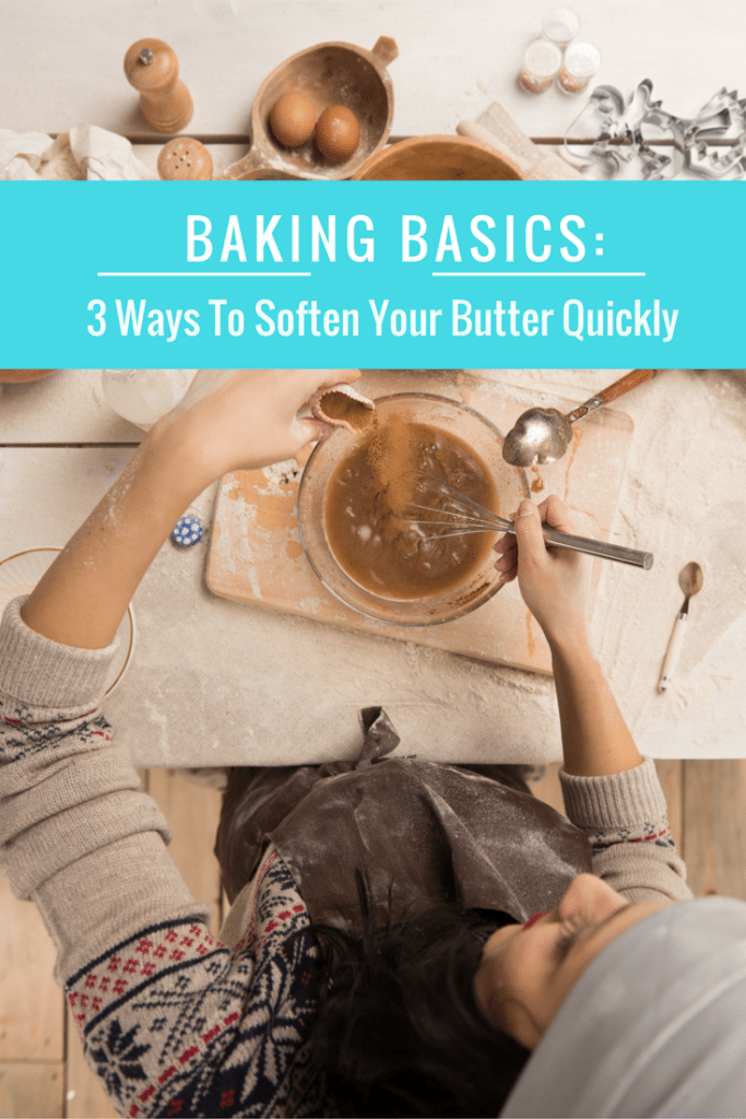 How To Soften Butter Fast (3 ways!)