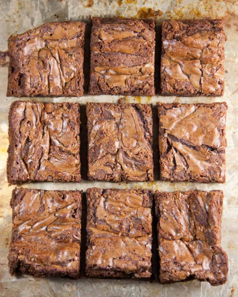 Easy Nutella Brownies