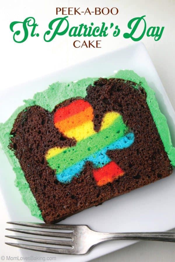 st patrick's day cake dessert