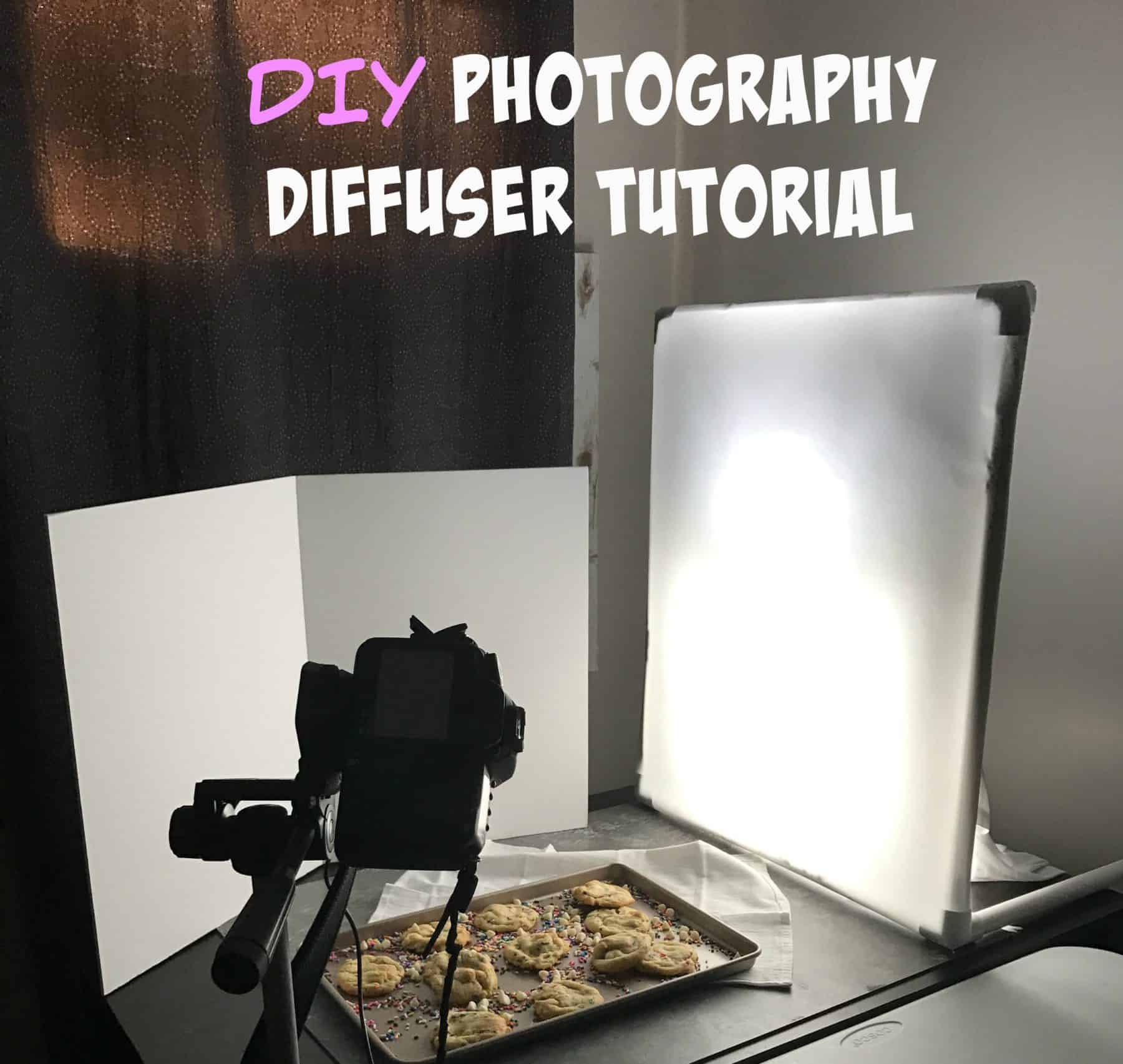 Photography Light Diffuser Tutorial