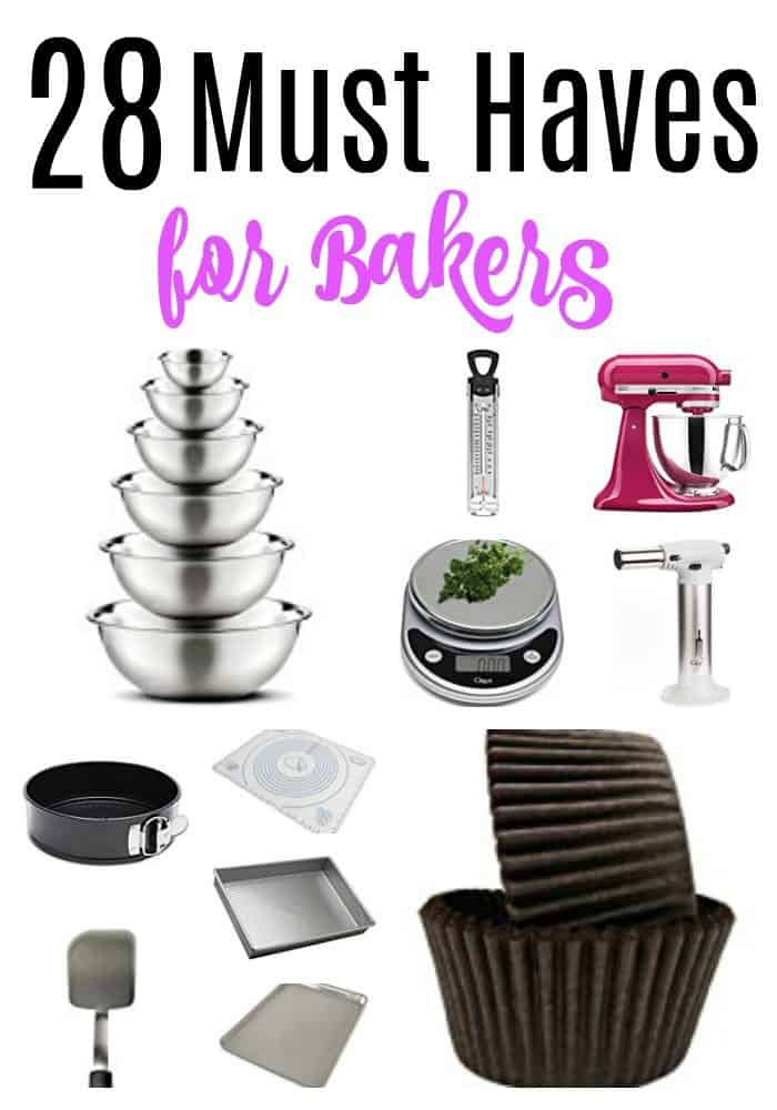 baking must haves