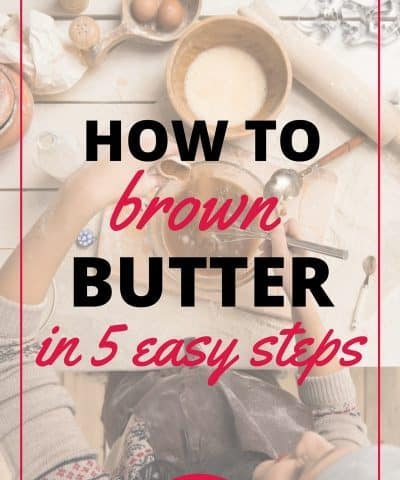 how to brown butter in 5 easy steps