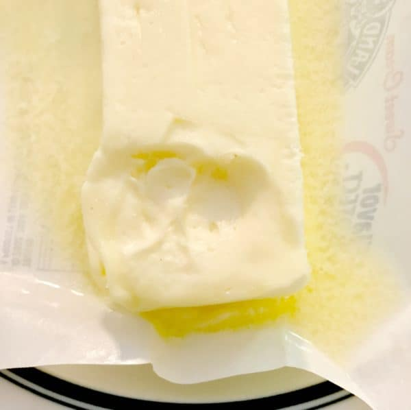 a stick of softened butter