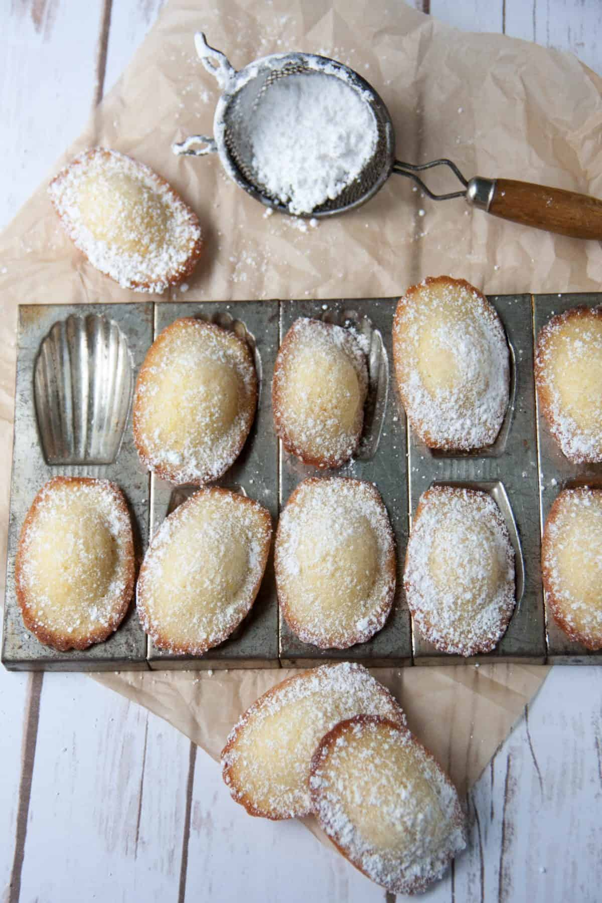 How To Make French Madeleines