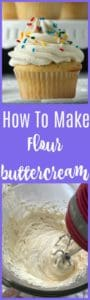 how to make flour buttercream