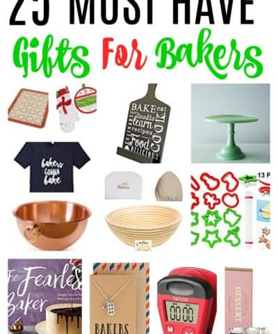 must have christmas gifts for bakers | bakers gift guide | gifts for bakers | baking gifts