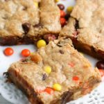 peanut butter blondie recipe