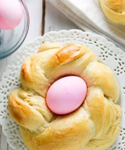 Pane Di Pasqua (Easter Egg Bread)