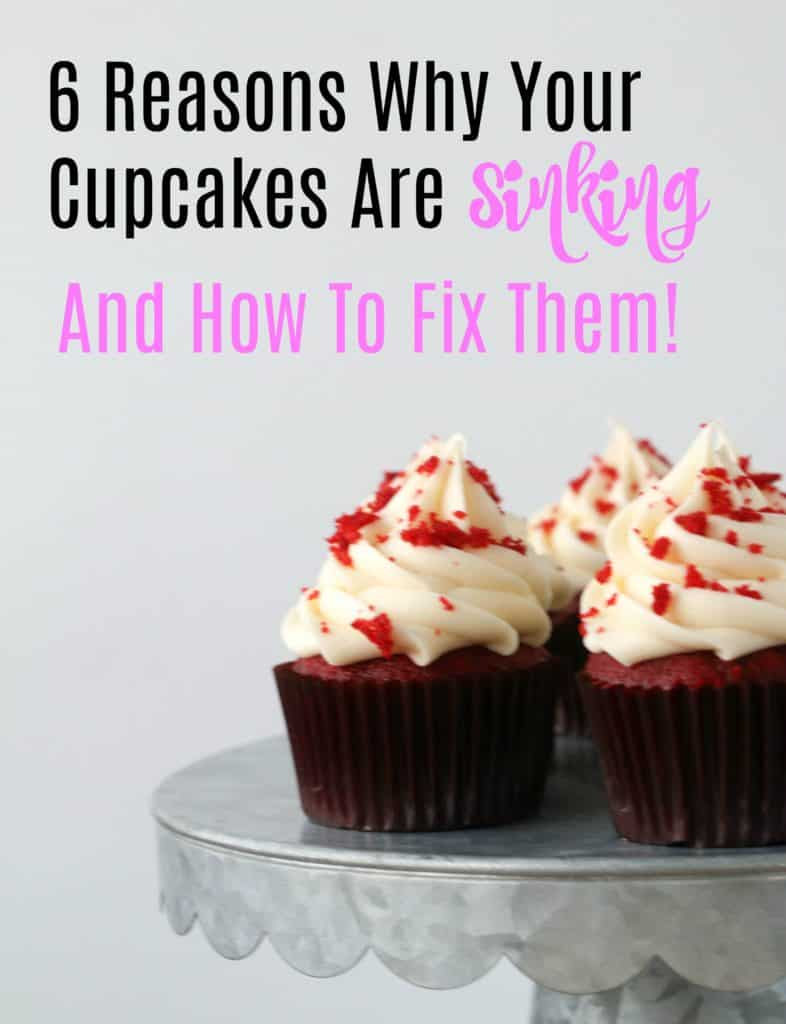 why do cupcakes sink boston girl bakes