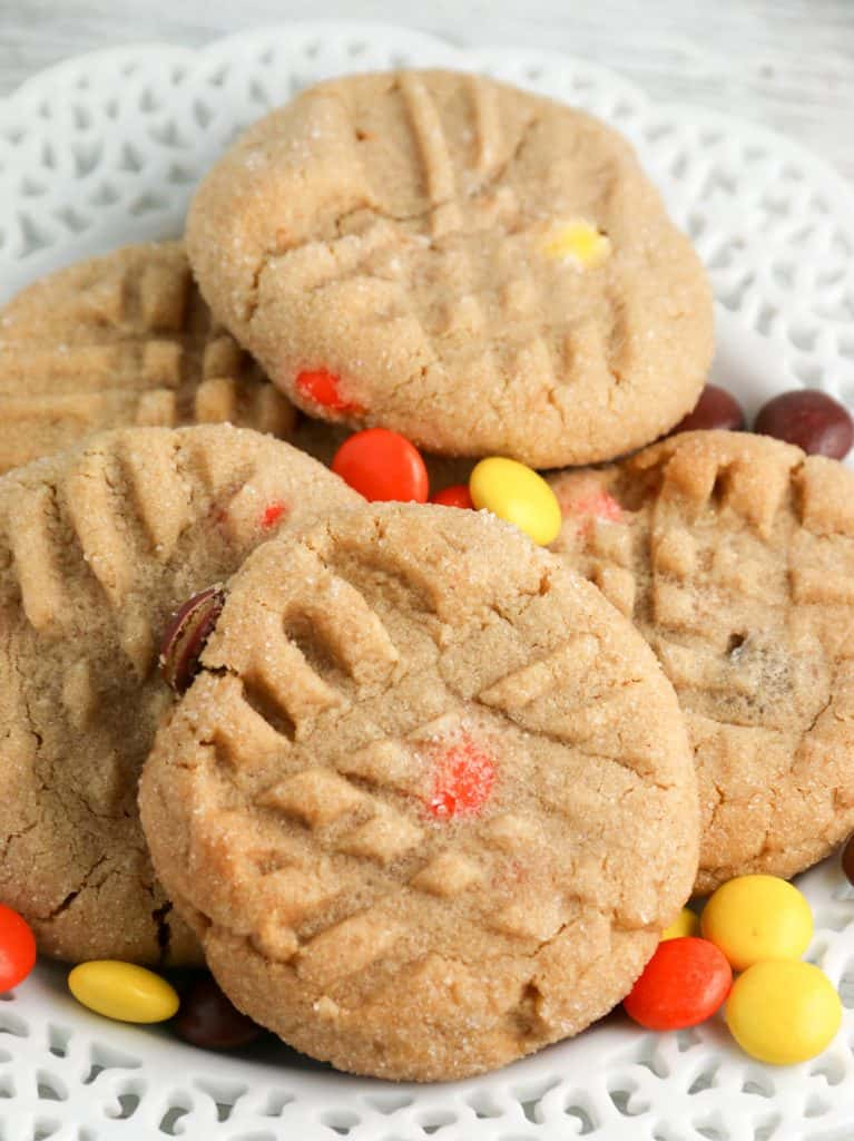 Reese's Peanut butter cookies on a plate