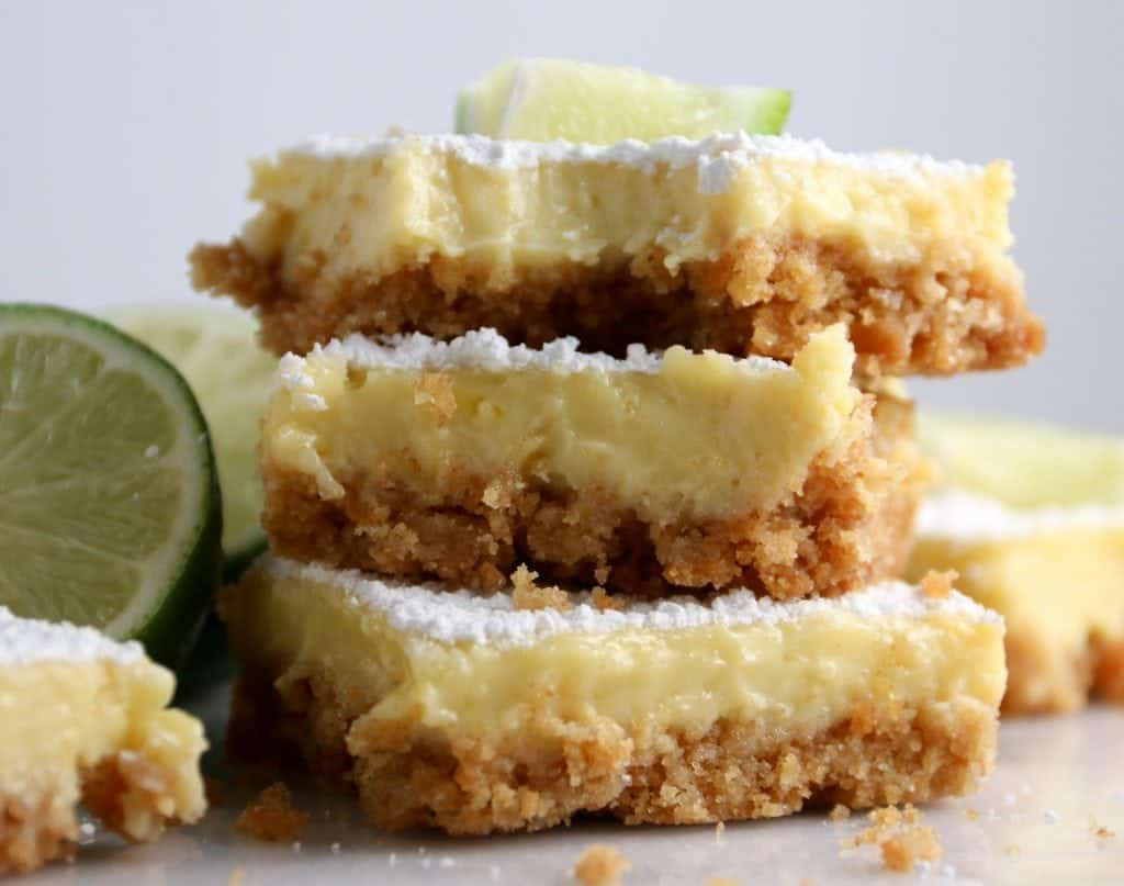 three margarita bars stacked on top of each other