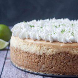 key lime pie cheesecake