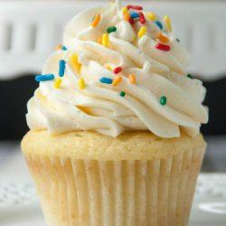 vanilla cupcake recipe from scratch