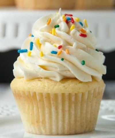 vanilla cupcake recipe from scratch