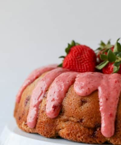 Strawberry Poundcake