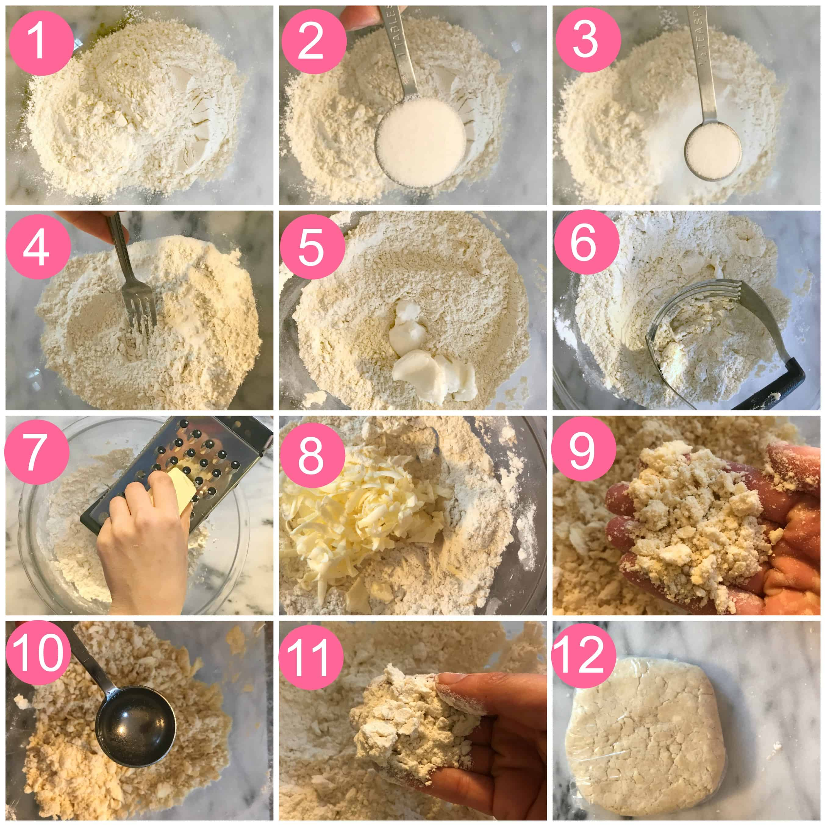 Pie crust collage