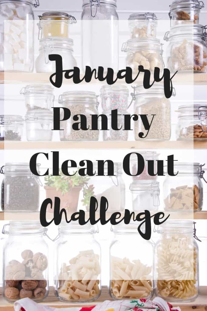January Pantry Clean Out Challenge