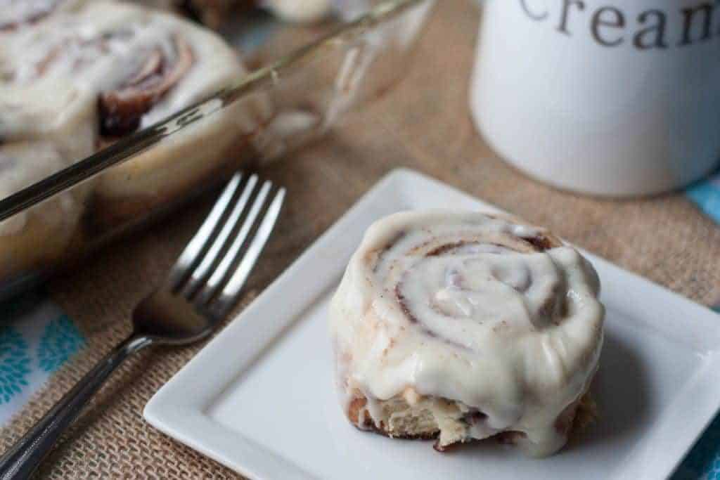 1 hour cinnamon rolls for brunch