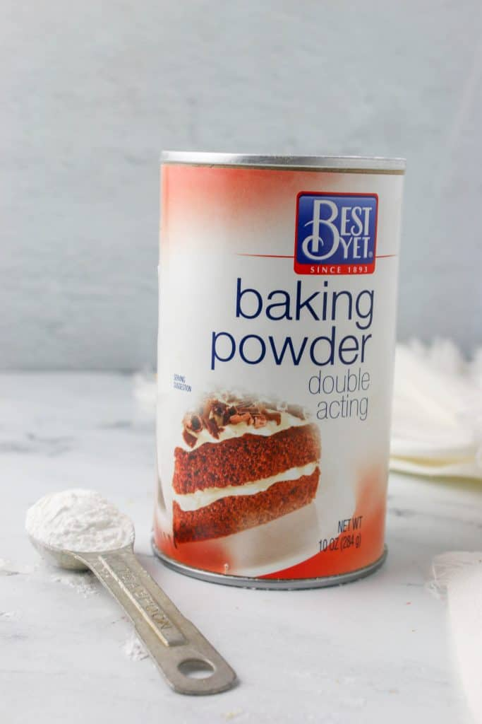 can of baking powder