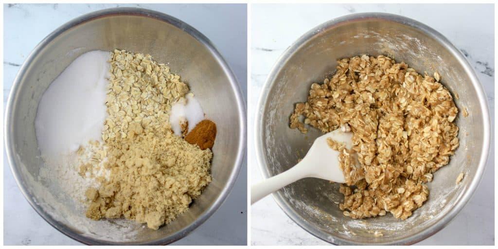 oatmeal crisp topping