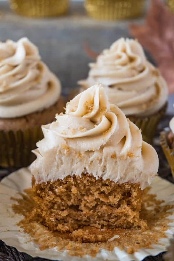 sweet potato cupcake for Fall